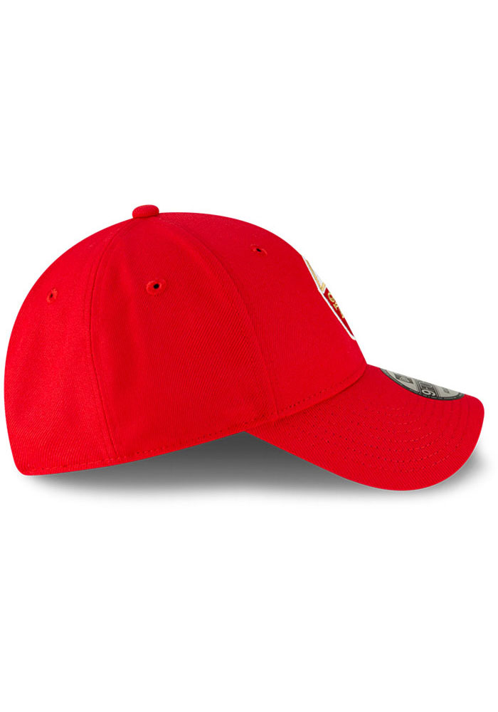 New Era San Francisco 49ers The League 9FORTY Adjustable Hat - Red - Image 6
