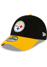 Pittsburgh Steelers New Era The League 9FORTY Adjustable Hat - Black