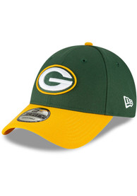 Green Bay Packers New Era The League 9FORTY Adjustable Hat - Green