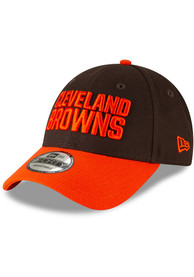 Cleveland Browns New Era The League 9FORTY Adjustable Hat - Brown