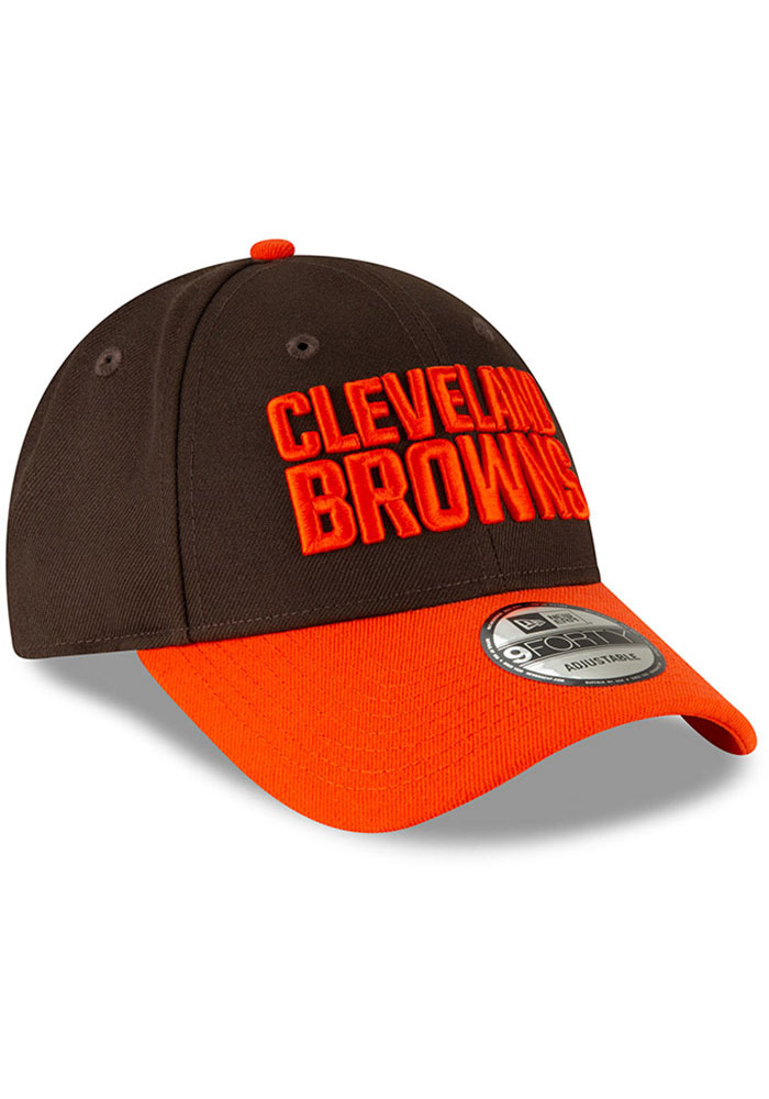 New Era Cleveland Browns The League 9FORTY Adjustable Hat - Brown - Image 2