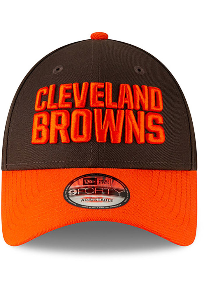New Era Cleveland Browns The League 9FORTY Adjustable Hat - Brown - Image 3