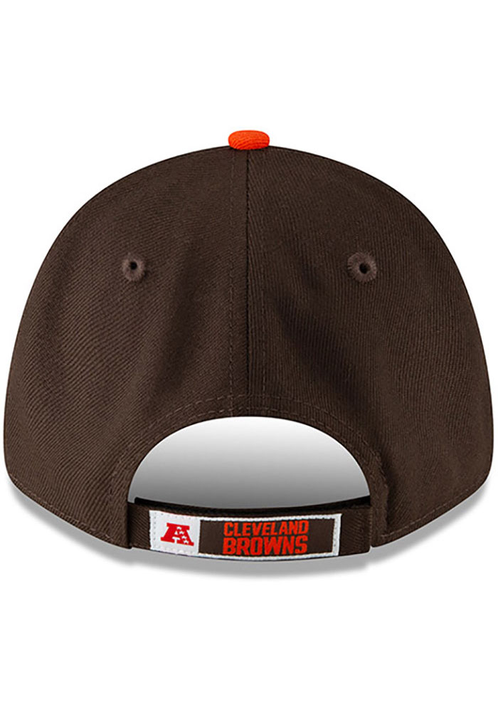 New Era Cleveland Browns The League 9FORTY Adjustable Hat - Brown - Image 5