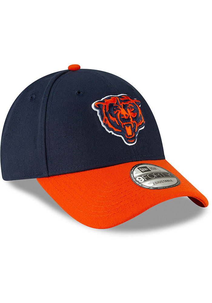 New Era Chicago Bears The League 9FORTY Adjustable Hat - Navy Blue - Image 2