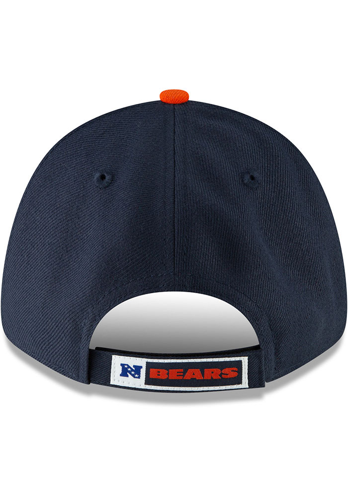 New Era Chicago Bears The League 9FORTY Adjustable Hat - Navy Blue - Image 5