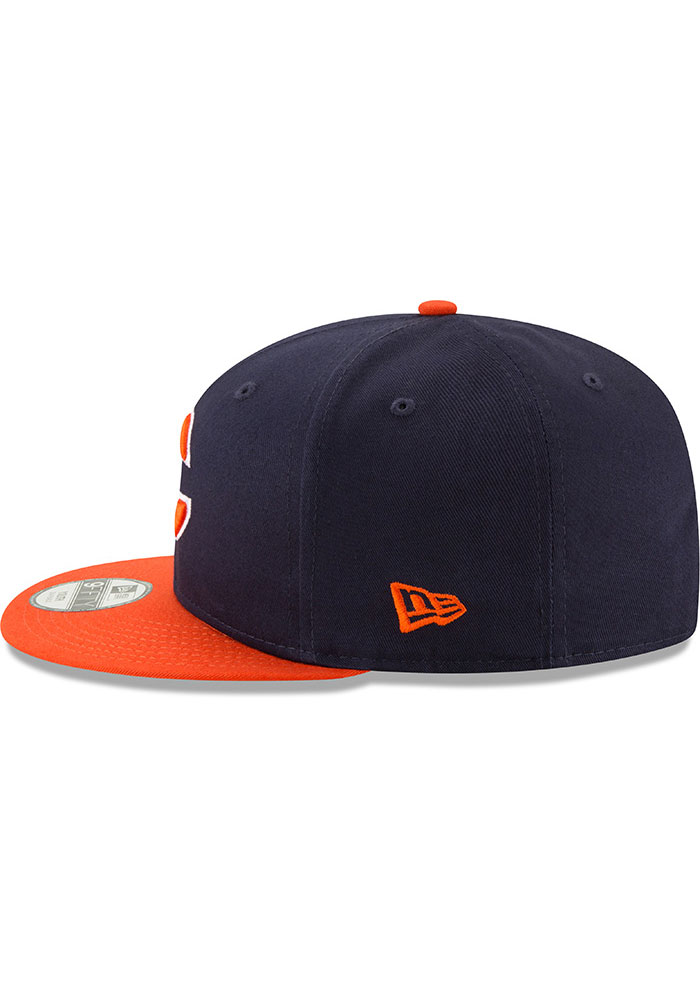 New Era Chicago Bears Navy Blue JR Baycik 9FIFTY Youth Snapback Hat - Image 4