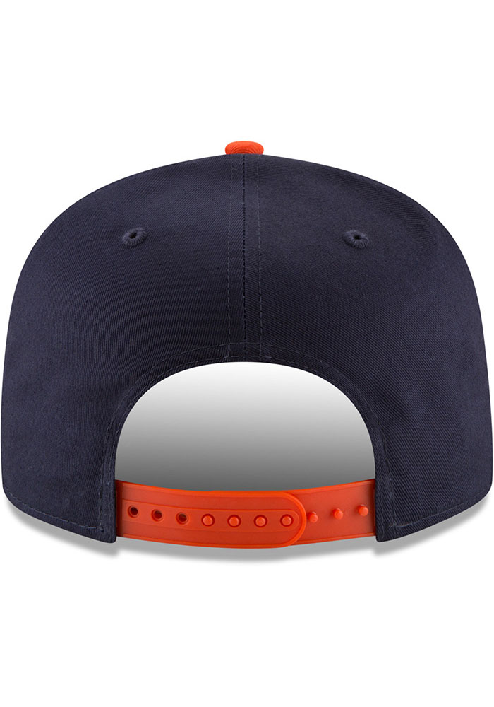 New Era Chicago Bears Navy Blue JR Baycik 9FIFTY Youth Snapback Hat - Image 5