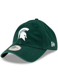 New Era Michigan State Spartans Casual Classic Adjustable Hat - Green