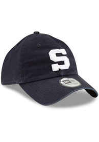 New Era Penn State Nittany Lions Casual Classic Adjustable Hat - Navy Blue