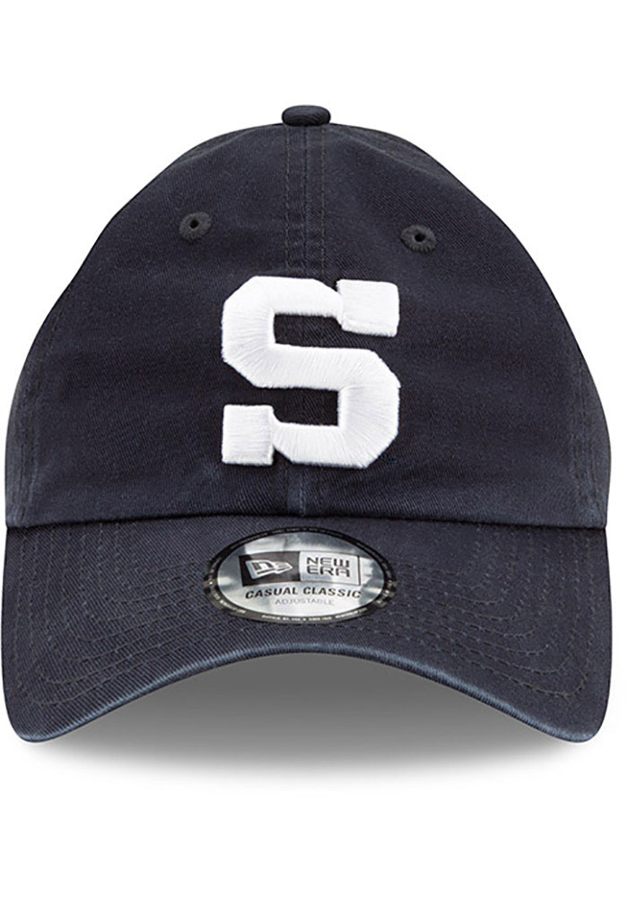 New Era Penn State Nittany Lions Casual Classic Adjustable Hat - Navy Blue - Image 2