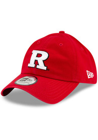 Rutgers Scarlet Knights New Era Casual Classic Adjustable Hat - Red