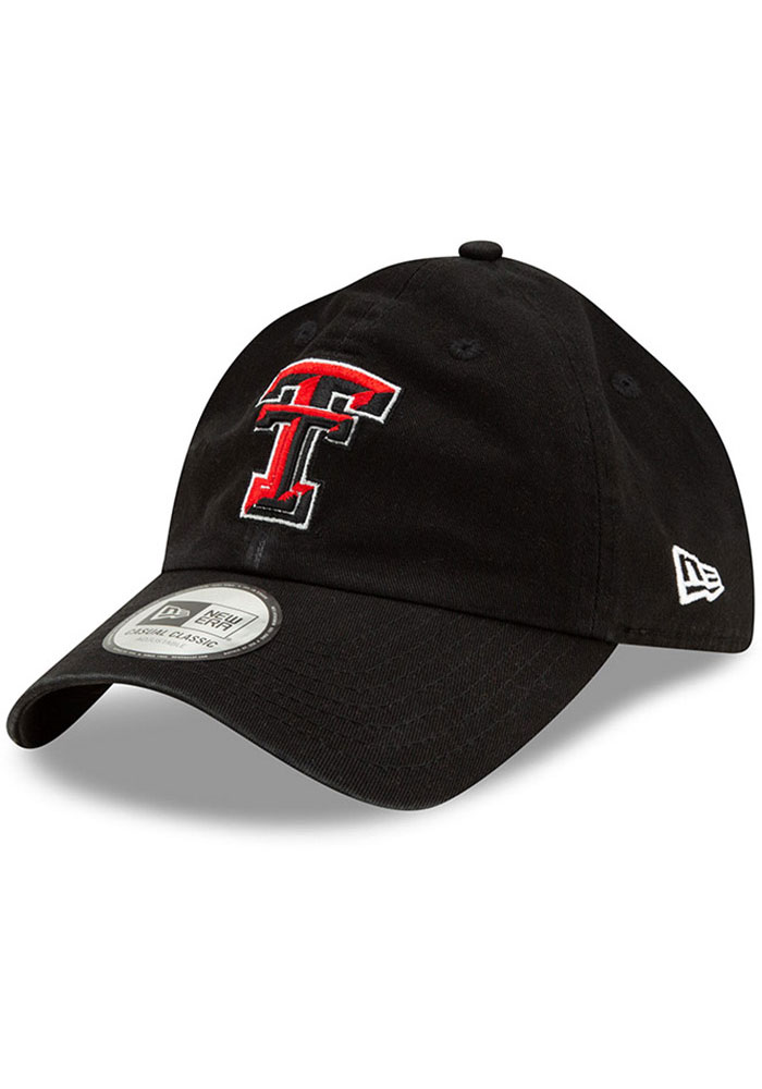 New Era Texas Tech Red Raiders Casual Classic Adjustable Hat - Red - Image 1