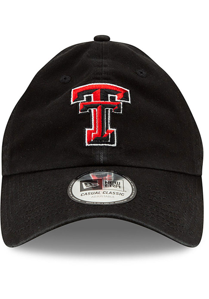 New Era Texas Tech Red Raiders Casual Classic Adjustable Hat - Red - Image 3