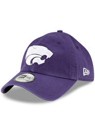 New Era K-State Wildcats Casual Classic Adjustable Hat - Purple