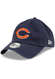 New Era Chicago Bears Casual Classic Adjustable Hat - Navy Blue