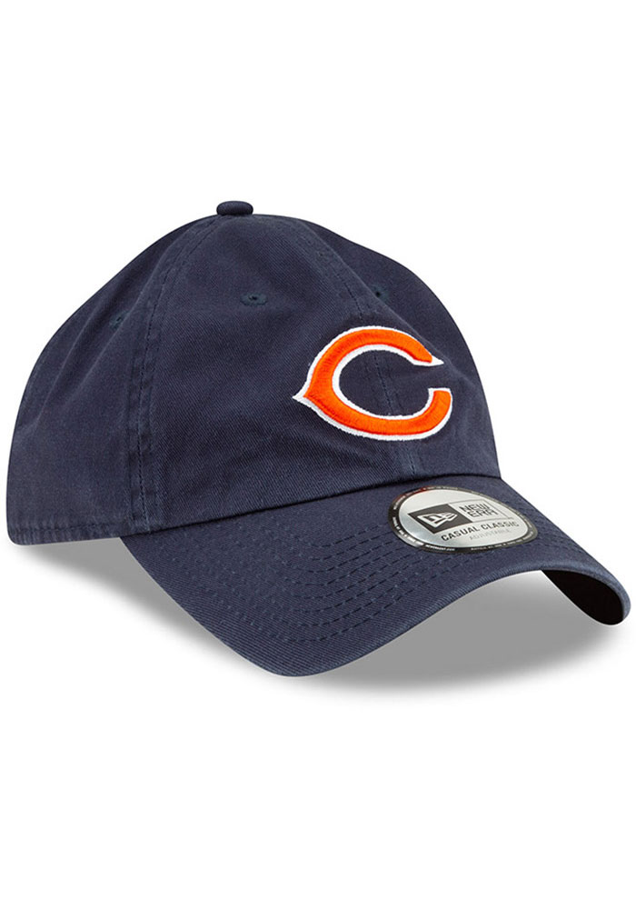 New Era Chicago Bears Casual Classic Adjustable Hat - Navy Blue - Image 2