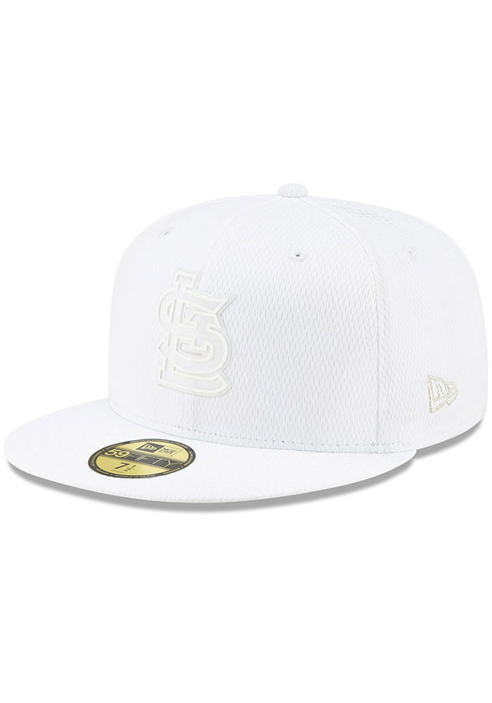 New Era St Louis Cardinals Mens White 2019 MLB Players' Weekend 59FIFTY Fitted Hat - Image 1