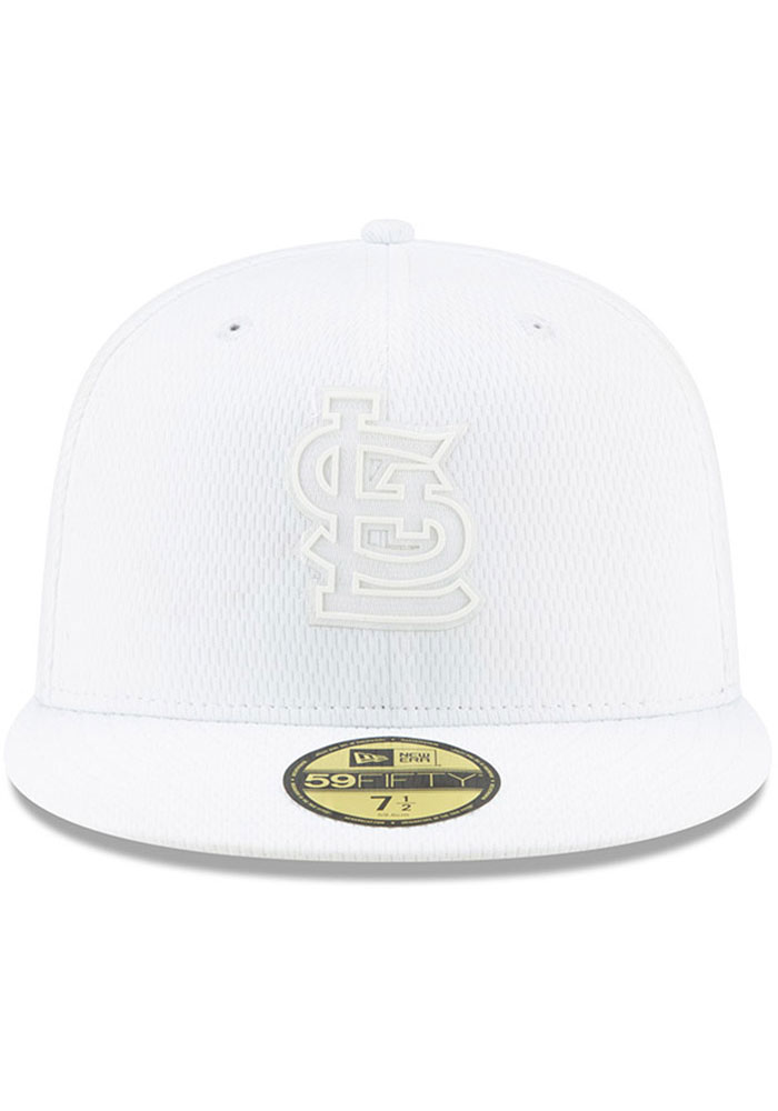 New Era St Louis Cardinals Mens White 2019 MLB Players' Weekend 59FIFTY Fitted Hat - Image 3