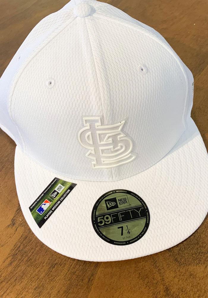 New Era St Louis Cardinals Mens White 2019 MLB Players' Weekend 59FIFTY Fitted Hat - Image 7