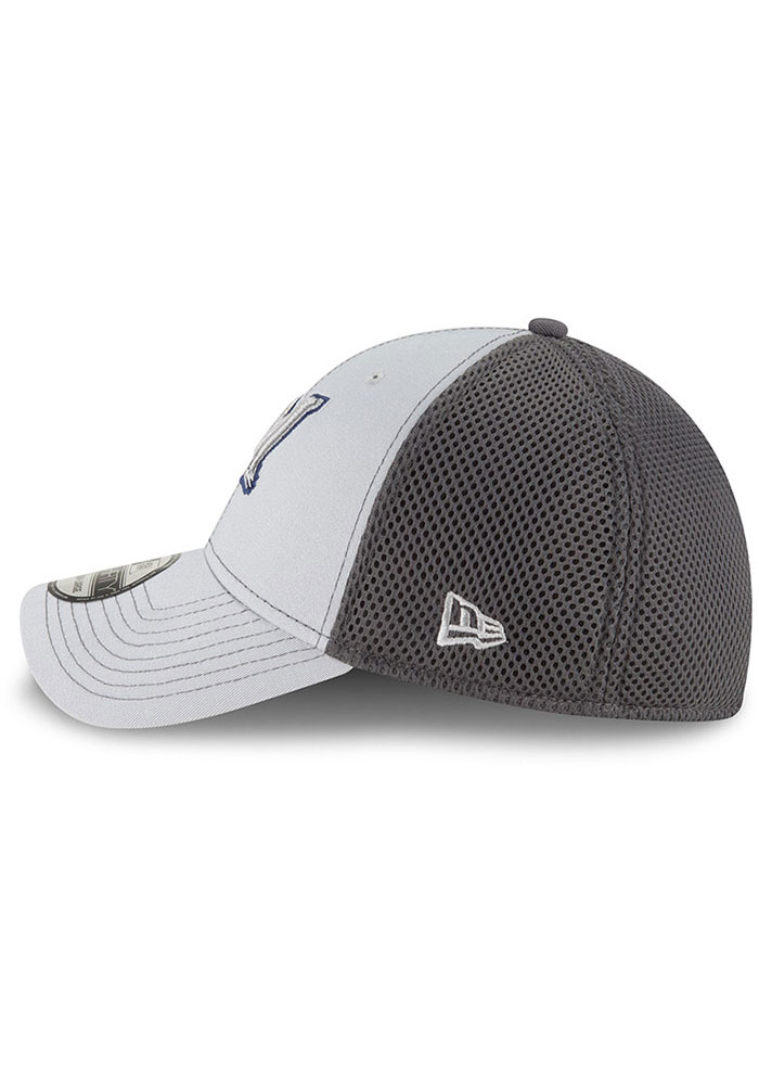 New Era Milwaukee Brewers Mens Grey Grayed Out Neo 39THIRTY Flex Hat - Image 4