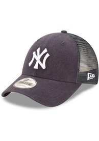 New York Yankees New Era Trucker 9FORTY Adjustable Hat - Navy Blue