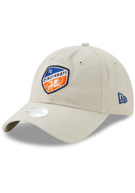 FC Cincinnati Womens New Era W Core Classic 9TWENTY Adjustable - Grey