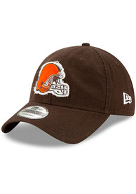 New Era Cleveland Browns Brown Rugged 9TWENTY Youth Adjustable Hat