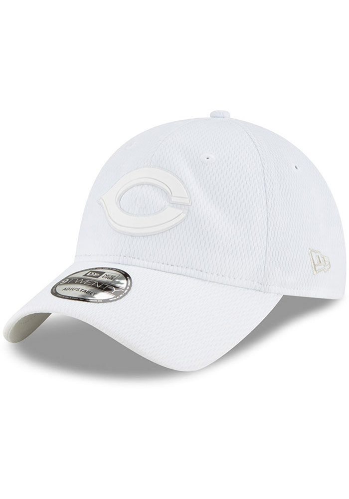 New Era Cincinnati Reds 2019 MLB Players' Weekend 9TWENTY Adjustable Hat - White - Image 1