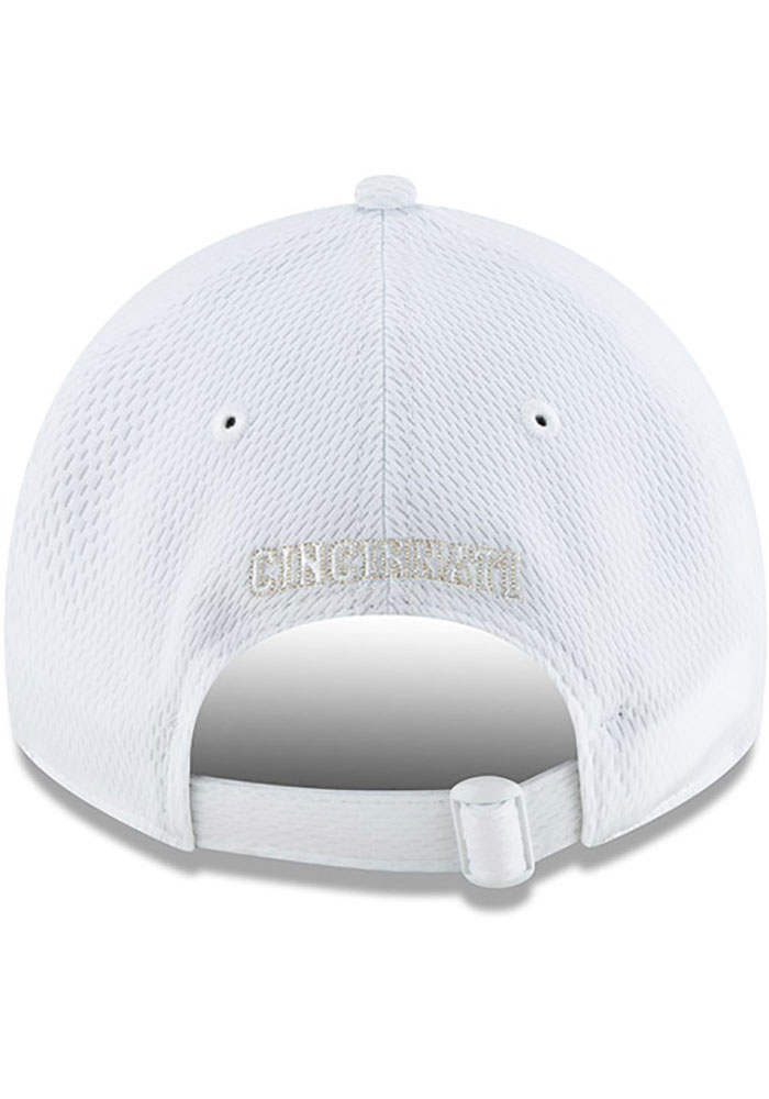 New Era Cincinnati Reds 2019 MLB Players' Weekend 9TWENTY Adjustable Hat - White - Image 5
