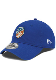 New Era FC Cincinnati Crest 9TWENTY Adjustable Hat - Blue