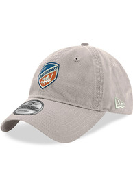 New Era FC Cincinnati Crest 9TWENTY Adjustable Hat - Grey