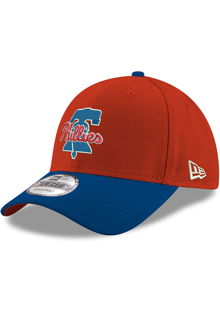 New Era Philadelphia Phillies Red 2T 9FORTY Youth Adjustable Hat - Image 1