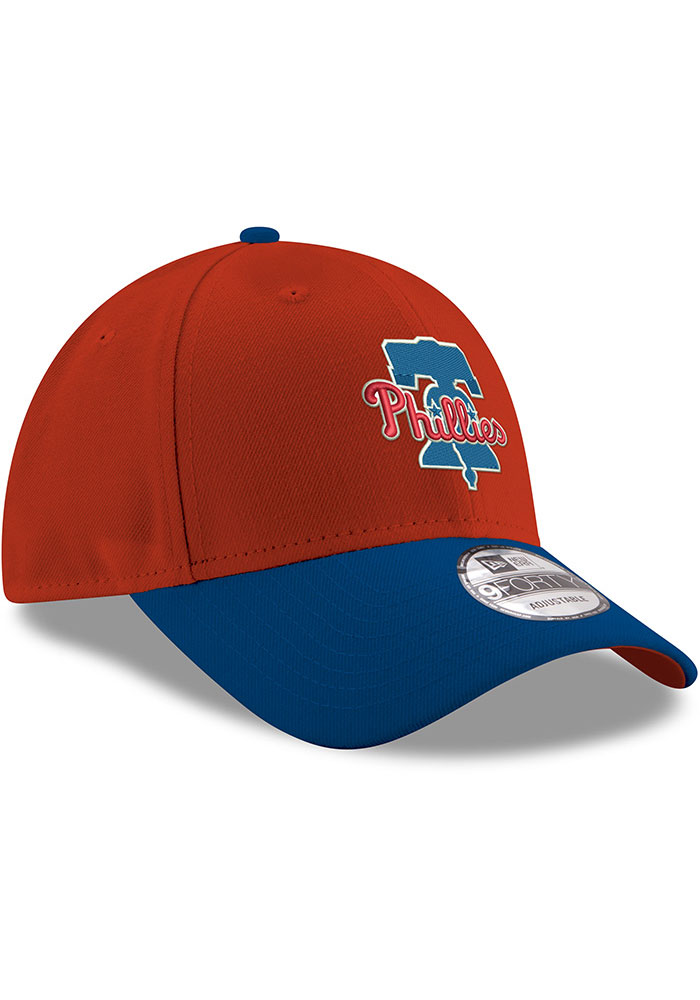 New Era Philadelphia Phillies Red 2T 9FORTY Youth Adjustable Hat - Image 2