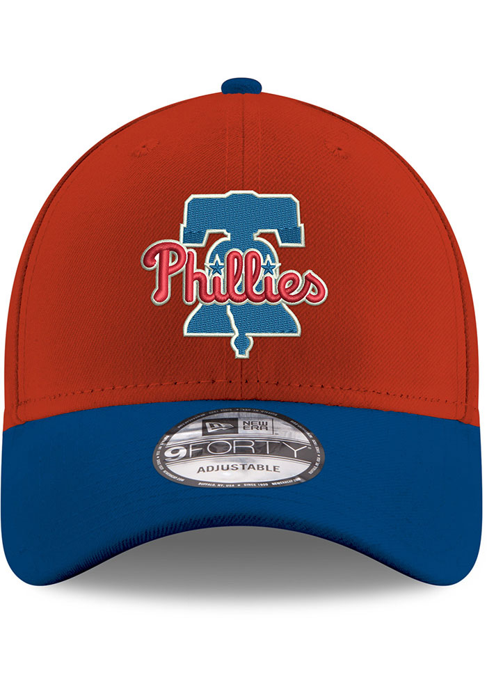 New Era Philadelphia Phillies Red 2T 9FORTY Youth Adjustable Hat - Image 3