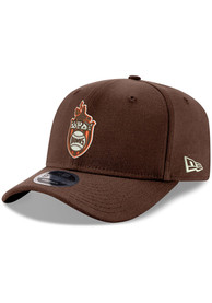 St Louis Browns New Era Retro Stretch 9FIFTY Snapback - Brown