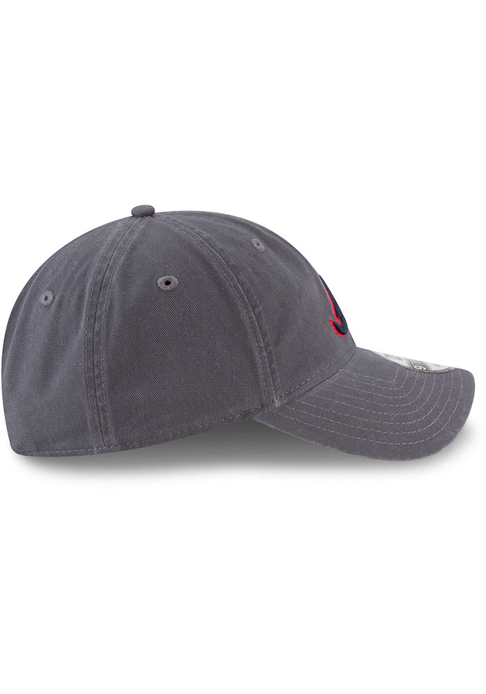 New Era Atlanta Braves Core Classic 9TWENTY Adjustable Hat - Grey - Image 6