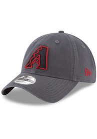 New Era Arizona Diamondbacks Core Classic 9TWENTY Adjustable Hat - Grey