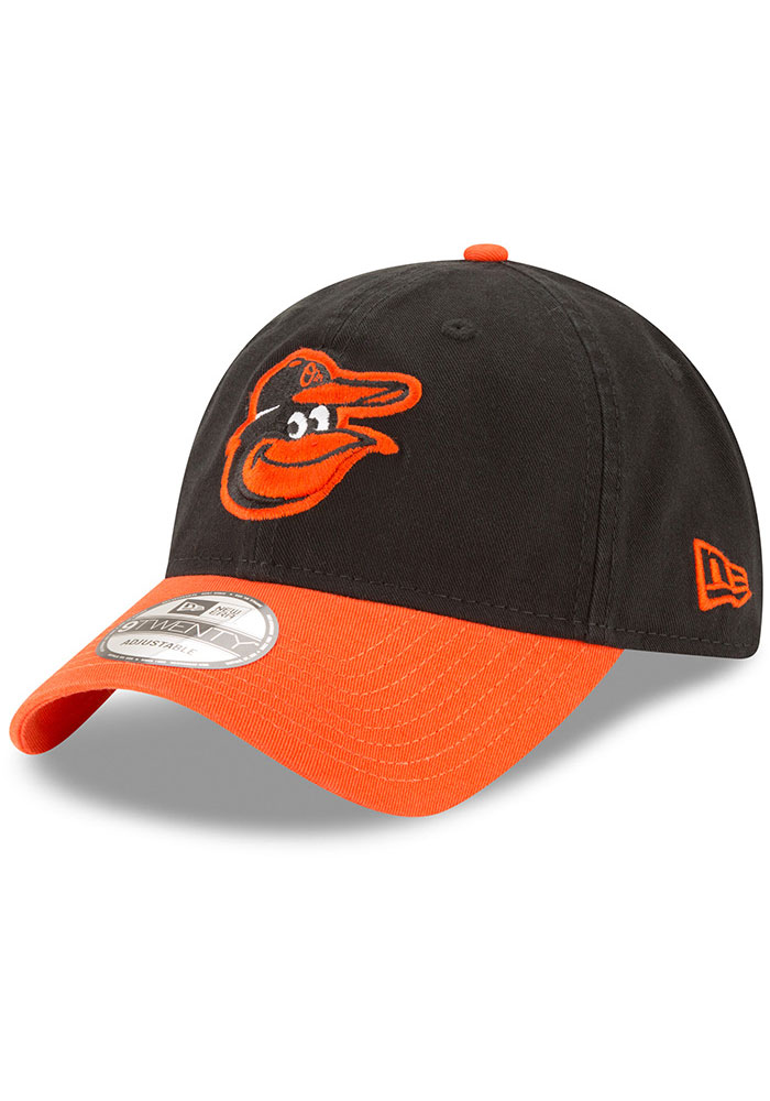 New Era Baltimore Orioles Core Classic Replica 9TWENTY Adjustable Hat - Black