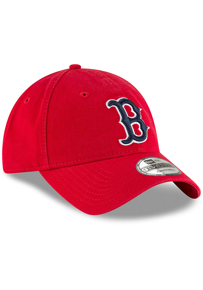 New Era Boston Red Sox Core Classic 9TWENTY Adjustable Hat - Red - Image 2