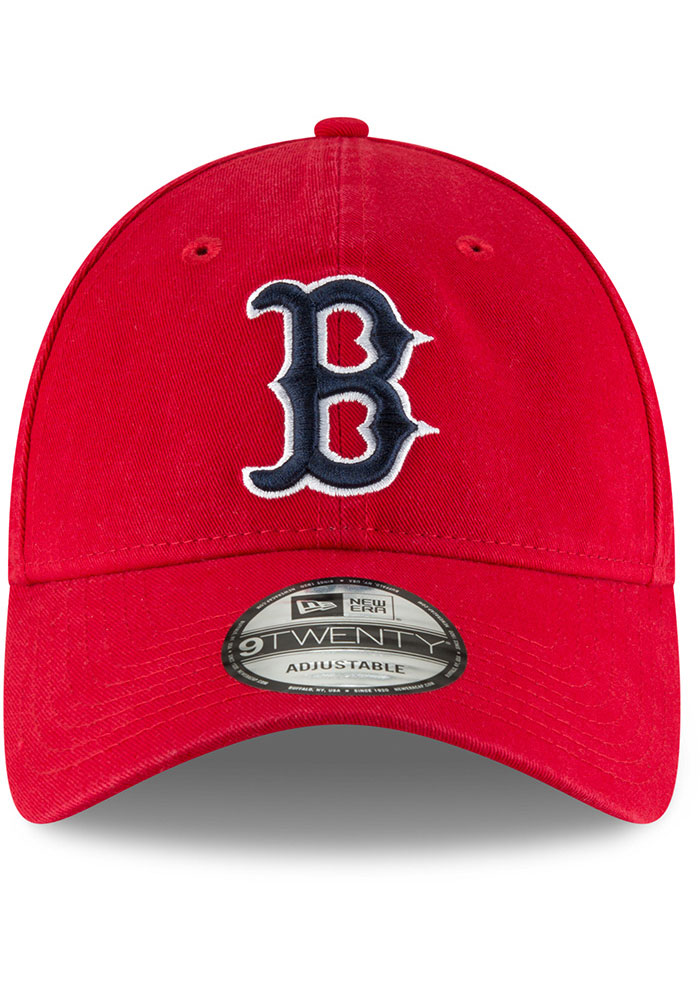 New Era Boston Red Sox Core Classic 9TWENTY Adjustable Hat - Red - Image 3