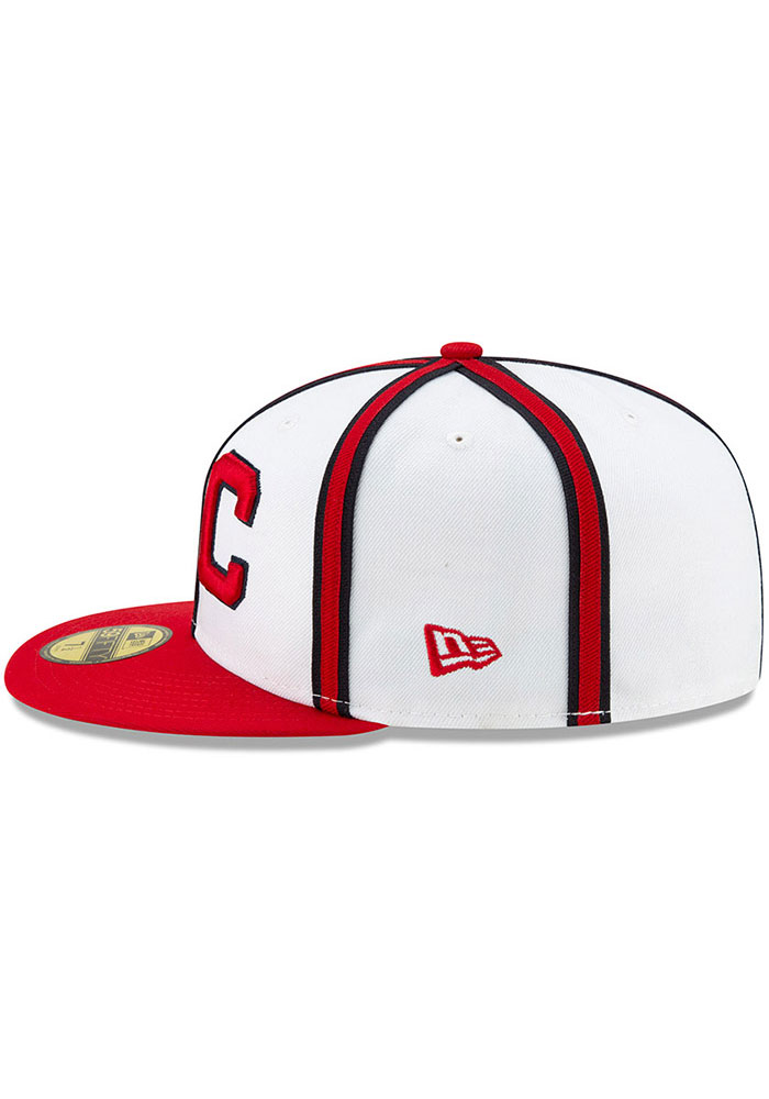 New Era Kansas City Monarchs Mens White 2019 TBTC 59FIFTY Fitted Hat - Image 4