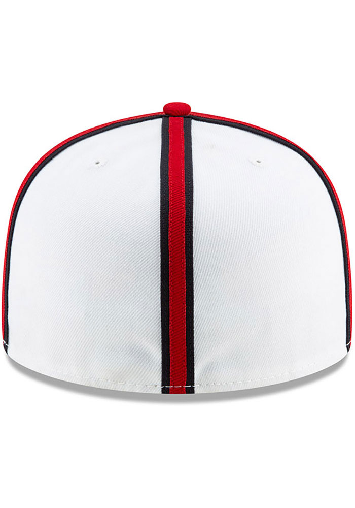 New Era Kansas City Monarchs Mens White 2019 TBTC 59FIFTY Fitted Hat - Image 5