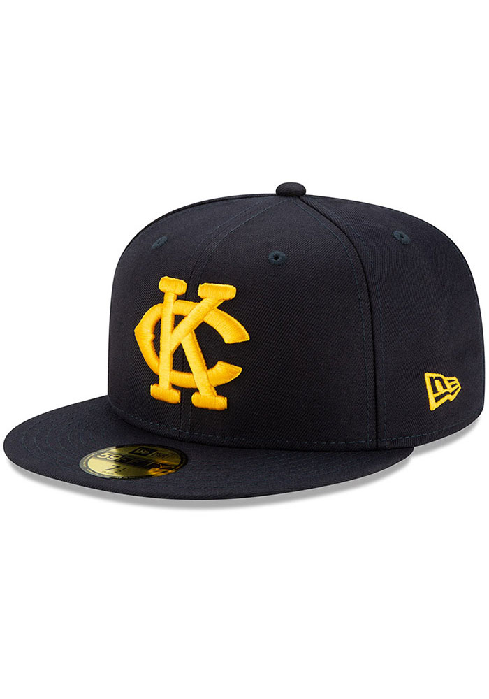 New Era Kansas City Monarchs Mens Navy Blue 2019 TBTC 59FIFTY Fitted Hat - Image 1