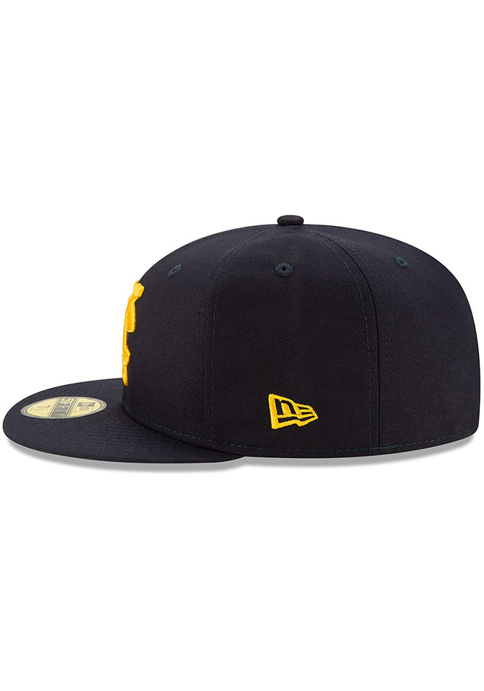 New Era Kansas City Monarchs Mens Navy Blue 2019 TBTC 59FIFTY Fitted Hat - Image 4