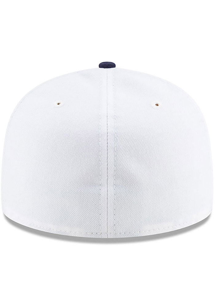 New Era Detroit Stars Mens White 2019 TBTC 59FIFTY Fitted Hat - Image 5