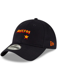 Houston Astros New Era Core Classic 9TWENTY Adjustable Hat - Navy Blue