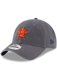 New Era Houston Astros Core Classic 9TWENTY Adjustable Hat - Grey