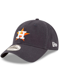 New Era Houston Astros Core Classic Replica 9TWENTY Adjustable Hat - Navy Blue