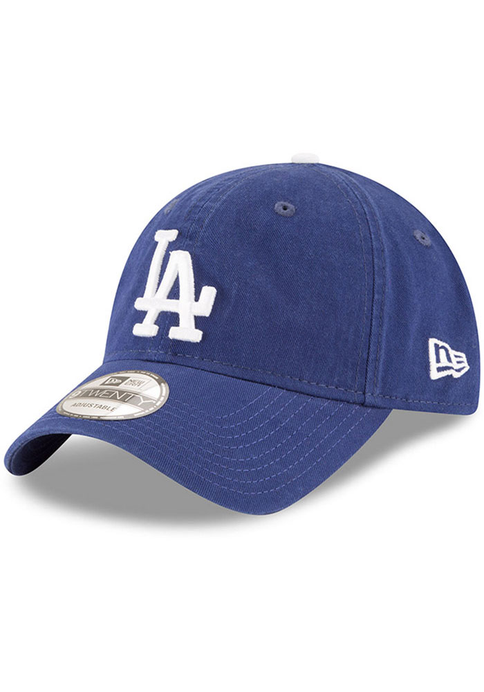 Los Angeles Dodgers New Era Core Classic Replica 9TWENTY Adjustable Hat - Blue