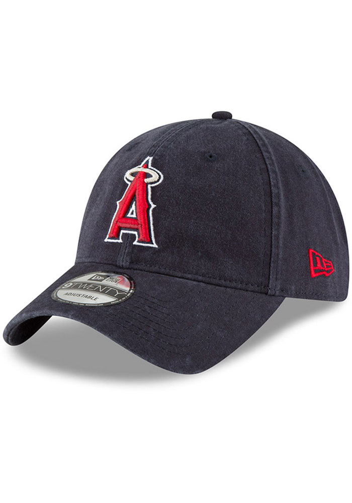 New Era Los Angeles Angels Core Classic 9TWENTY Adjustable Hat - Navy Blue